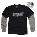 Tee Shirt Fox Racing TEMPERED