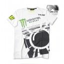 Tee shirt blanc VR6 Monster energy