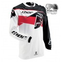 Maillot THOR Phase Steak Noir