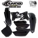 Kit plastique Yamaha YZ 125/YZ 250 Noir