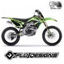 Kit deco Kawasaki KX250F Flu Designs
