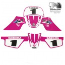 Kit déco Yamaha 50PW Pink Spécial Rose.