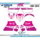 Kit déco Yamaha 50PW Rose