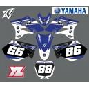Kit déco Yamaha 125 YZ personnalisable.
