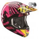 Casque motocross THOR Verge Dazz PINK
